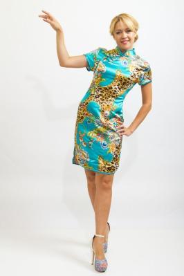 Платье ципао купить брендовые пальто последних коллекций для стильных женщин